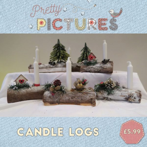candle-logs